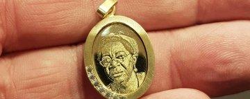 Foto graveren voor juweliers