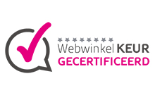 Webwinkelkeur gecertificeerd