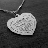 zilveren hart hanger ouders dochter