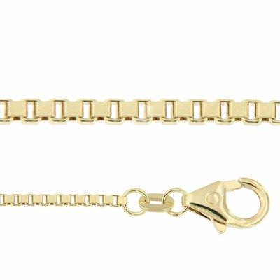 Gouden ketting Venetiaans 50 cm