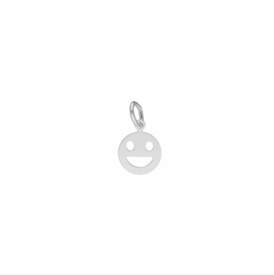 Zilveren Smiley bedel