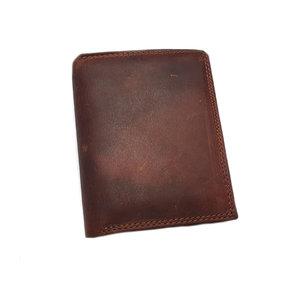 Heren portemonnee met naam Staand