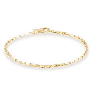 Gouden schakelarmband Anker 2 mm 19 cm