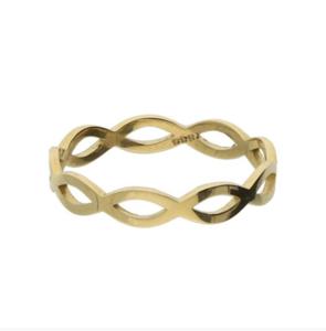 14K gouden ring fantasie