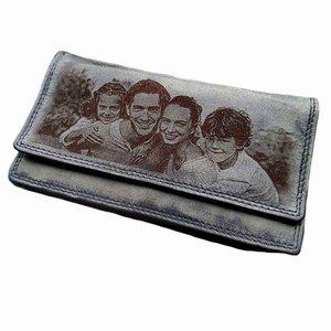 dames portemonnee met foto